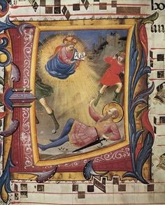 ANGELICO, Fra:  Missal 558 (Folio 21),  c. 1430,  Tempera and gold on parchment,  Museo di San Marco, Florence