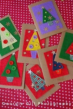 Christmas Cards Crafts For Kids Christmas Crafts Pin ? Send Christmas Cards, Beautiful Christmas Cards, Homemade Christmas Cards, Noel Christmas, Christmas Countdown, Handmade Christmas, Christmas Gifts, Christmas Card Ideas With Kids, Christmas Tree Decorations For Kids
