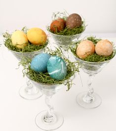 Natural Dyed Eggs-more effort and $ than Paas, but colors found in nature are worth it.