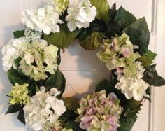 Daisy Wreath Summer Spring Wreath Front Door door FloralXchange