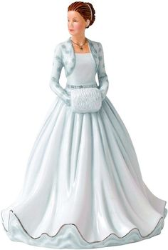 Royal Doulton The First Noel Figurine,White:
