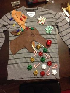 11-Year-Old's DIY Ugly Christmas