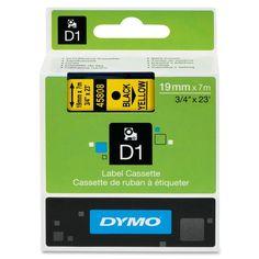 Dymo Black on D1 Label Tape