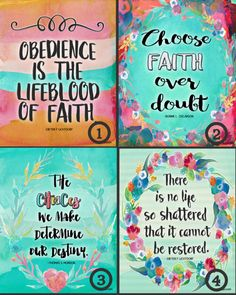 9 Free inspirational printables from the April 2016 LDS General Conference!