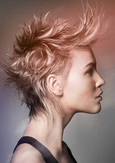 Ombre in short hair    followpics.co