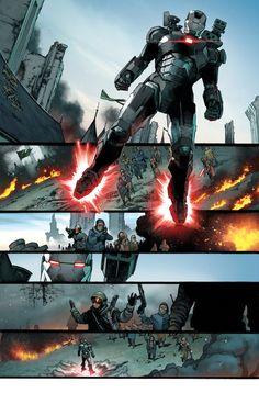 Civil War II #0 preview pg2 -Olivier Coipel