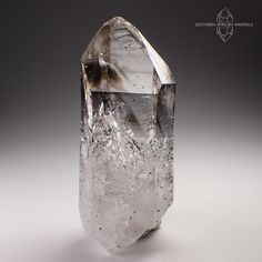 Brandberg Lustrous Smoky Phantom Quartz Crystal with Inclusions, Namibia