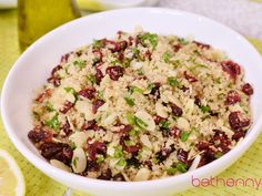 Bethenny's Cold Quinoa Salad Recipe
