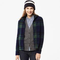 $29.90 WOMEN Printed Fleece Full-Zip Jacket