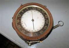 French Altimeter Indicator (Note: This item is currently in storage.)
