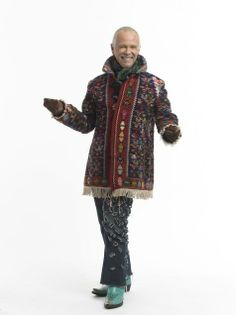 How to make a coat out of two kilim rugs