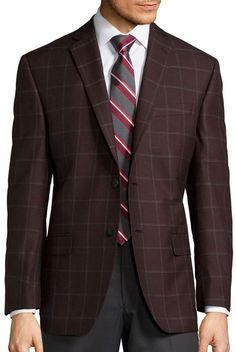 COLLECTION Collection by Michael Strahan Classic-Fit Sportcoat  - Big & Tall