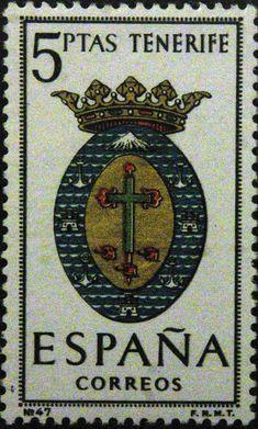 Sellos - Escudos Heraldicos - Tenerife