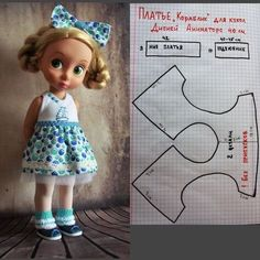 One-piece Barbie drrss …dolls kill platform shoes Click visit link to see more - Caring For Your Collectable Dolls.Barbie Skating outfit blouse Skirt & Shorts pattern with inDiscover recipes, home ideas, style inspiration and other ideas to try. Sewing Doll Clothes, Doll Clothes Barbie, Sewing Dolls, Barbie Sewing Patterns, Doll Dress Patterns, Clothing Patterns, Doll Crafts, Diy Doll, Disney Baby Dolls