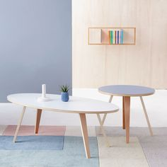 Coffee Tables with a Refined Stance