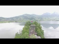 Insel Schwanau // DJI Phantom 4 - YouTube Dji, Phantom, Youtube, Island