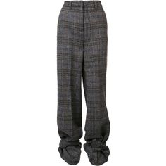 Y / Project checked high waisted trousers (9.916.865 VND) ❤ liked on Polyvore featuring pants, trousers, bottoms, black, high-waist trousers, checkerboard pants, high waisted trousers, checkered pants and high-waisted trousers