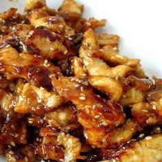 Crock-Pot Chicken Teriyaki with Diced Chicken, Teriyaki Sauce, Chicken Broth, Brown Sugar, Garlic.