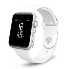 Smart Watch Bluetooth SmartWatch ARC HD Screen Support SIM Card Wearable Devices Smartphone Fitness Tracker for iOS Android(Elegant White) Fitness Tracker, Apple Watch, Watch 2, Watch Bands, Smart Watch Apple, Led Watch, Cool Watches, Watches For Men, Popular Watches