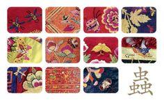 자수 문양 | 동양자수박물관