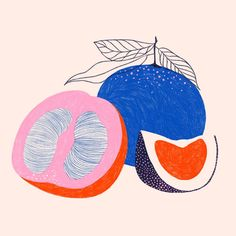 Food recipe kitchen art illustration modern geometric minimalist fruitYou can find Kitchen art and more on our website.Food recipe kitchen art i. Art And Illustration, Food Illustrations, Inspiration Art, Art Inspo, Minimal Art, Fruits Drawing, Fruit Art, Fruit Food, Arte Floral