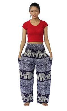 Hippies pants clothes Beach Summer Hipster Casual Yoga Pants