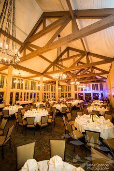 Atlanta Wedding Reception Venue : Country Club of the South Ballroom , Alpharetta , Georgia .
