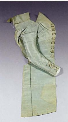 Louis XVII's blue silk jacket