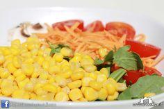 Insalata Estiva (rucola, pomodorini ciliegia, funghi freschi, carote, mais) #casinadelbosco#salad #italianfood Seguici: www.facebook.com/casinadelbosco