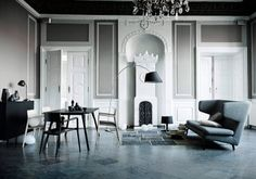 Just in Love with grey wall colour but you gotta have the space for it