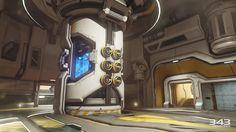 ArtStation - Halo 5 Guardians Warzone Power Core, Ben Nicholas