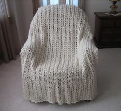 Bring the beauty of spring and summer into your home with the Colors of the Wind Afghan.  This beautiful crocheted afghan pattern would look great in any room in your home, and it's a fun way to play around and experiment with color.