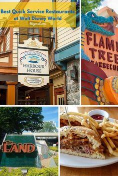 Best Quick Service Restaurants at Disney World Disney World 2017, Disney World Vacation, Disney World Resorts, Disney Vacations, Disney Travel, Disney World Tips And Tricks, Disney Tips, Disney Food, Disney Parks