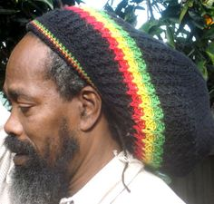 Rasta Gear Shop - RASTA HATS - TAMS - Rastaman Black Tam