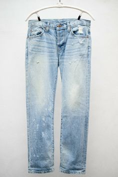 Kura Wash Beck Jean by NSF. Washed out boyfriend jeans.