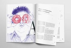 Fuel for Life magazine with illustrations by Silvia Celiberti