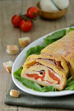 Rotolo di pane farcito, semplice e gustoso!  http://blog.giallozafferano.it/rafanoecannella/rotolo-di-pane-farcito/