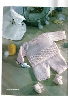 Discover thousands of images about Albums archivés Baby Knitting Patterns, Free Knitting, Baby Layette, Crochet Magazine, Fall Crafts, Lana, Doll Clothes, Knit Crochet, Blog