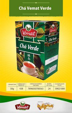 Chá Vemat Verde 50gr