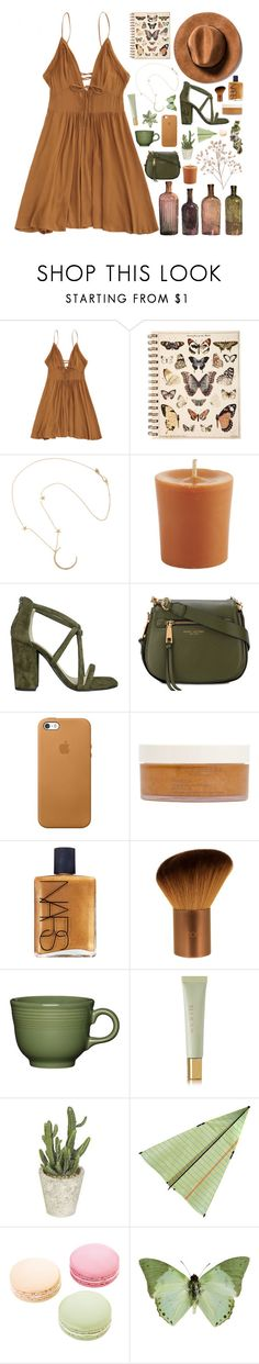 """you are such a pyt // fashion set + tag"" by gabriella-houck ❤ liked on Polyvore featuring Me&Ro, Pier 1 Imports, Iris, Marc Jacobs, African Botanics, NARS Cosmetics, EcoTools, ...Lost, Fiesta and AERIN"