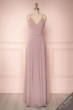 Lovina Petal Lilac Chiffon Gown with Tied Open Back Grad Dresses Long, Cute Prom Dresses, Elegant Dresses, Pretty Dresses, Beautiful Dresses, Evening Dresses, Bridesmaid Dresses, Formal Dresses, Long Dress Formal