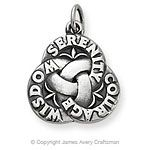 serenity prayer symbols | serenity charm the serenity charm is 3 4 long this piece was inspired ...