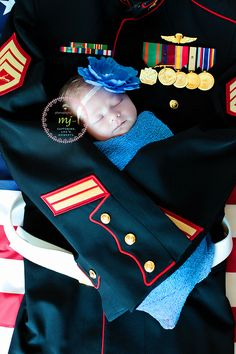 Military newborn session. Hampton Roads Newborn Photographer.  Photography by mj, LLC