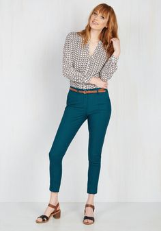 New Arrivals - Situationally Savvy Pants in Lagoon