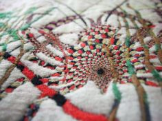 Kustaa Saksi makes ornate tapestries inspired by nature