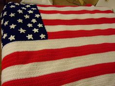 You can also make an American Flag Fridgie from this pattern; instructions are included on the same page.