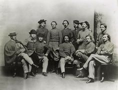 John S. Mosby and with some of his men from the 43rd Battalion Virginia Cavalry.