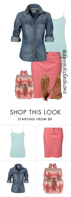"""Apostolic Fashions #1251"" by apostolicfashions on Polyvore featuring Warehouse, Jackpot, Accessorize and Wet Seal"