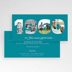 Round Birthdays - Photo Count - 60 years 44171 thumb - all-invitations. Birthday Photos, Diy Party, Party Ideas, Invitation Cards, Invitation Ideas, Birthday Invitations, Easy Diy, Daddy, Birthdays