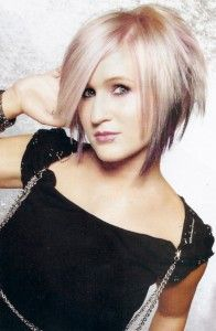 I like this style, but I'd keep my own hair color.